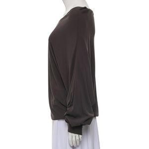 Ramy Brook Tops - Charcoal Ramy Brook long sleeve top